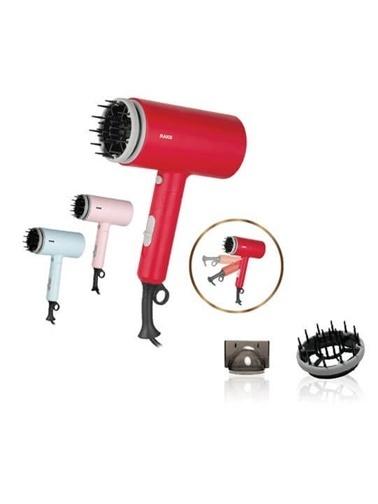 Raks Tina 1400W Katlanabilir Saç Kurutma Makinesi Kırmızı Kırmızı